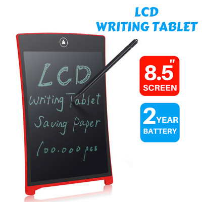 """LCD eWriter Tablet Writting Drawing Pad Memo Message Boards 8.5"""""""