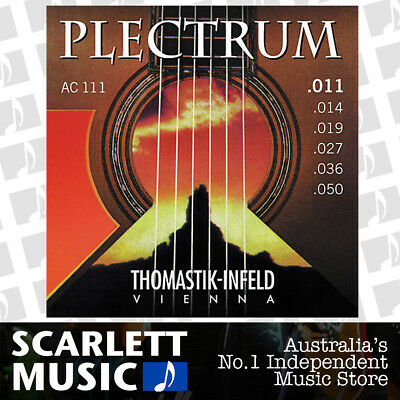 Thomastik AC111 Plectrum Acoustic Guitar Strings Set Light 11-50 AC-111