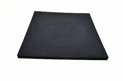 Motorcycle Race Racing Foam Seat Pad Adhesive 1.5cm Thick Black Universal Fit