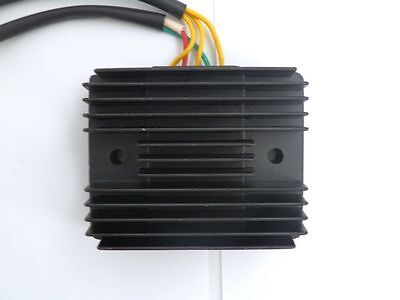 Voltage Regulator Rectifier 5wires 2Plug for 250cc Scooter Chinese Scooter Moped
