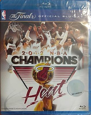2012 The Finals Official NBA Champions Heat Blu-ray