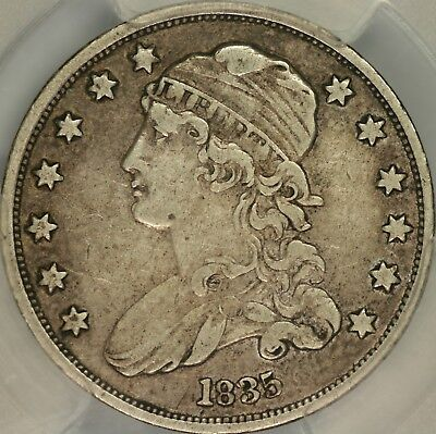1835 Capped Bust Quarter PCGS XF40