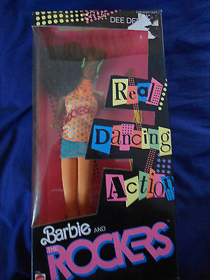Barbie and the Rockers Dee Dee Doll in box Good Condition