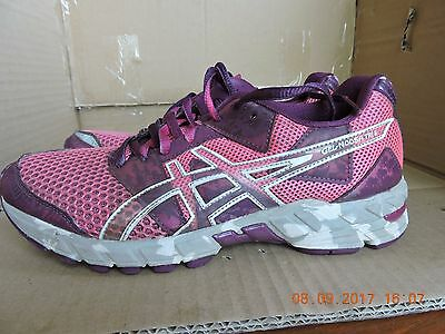Asics Gel-Noosa Tri 8 women's pink textile upper running/athletic shoes size 7.5