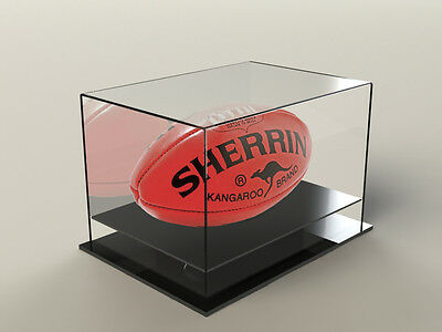Football AFL Display CaseAcrylic Perspex -  GRAND FINAL SPECIAL!! PICK UP ONLY