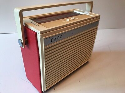 "Ekco Bpt 351 - Vintage Radio ""working"""