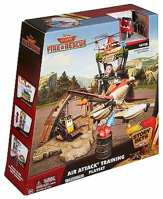 Disney Planes Fire & Rescue Air Attack Training Playset with Patch figure - OPV