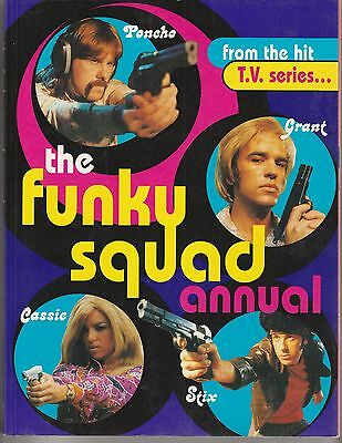 """The Funky Squad Annual - Penguin Books Australia 1995 """"From The Hit TV Series"""""""