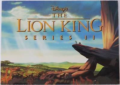 1994 Disneys 'The LION KING' Series 2 Promo Card *UN-NUMBERED* by SkyBox