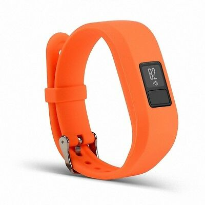 (Orange) - Silicone Band for Garmin Vivofit 3,Gentman Replacement Wrist Band Spo