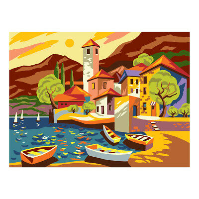COLLECTION D'ART | Printed Canvas: Port Harbour |CD10482