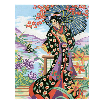 COLLECTION D'ART |Tapestry Kit: Japanese Lady |CD6190K