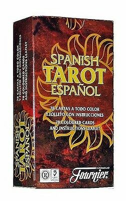 SPANISH TAROT ESPAÑOL - 78 CARTAS HERACLIO FOURNIER (Manual ESPAÑOL E INGLES)