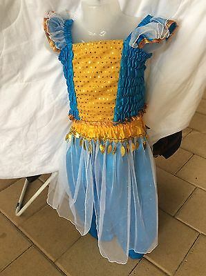 Kids Toddler Harem Princess Genie Costume Dress Up Party Size 5
