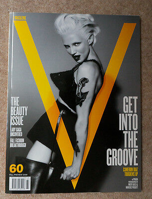 V Magazine Issue 60 Fall Preview 2009 Cameron Diaz front cover