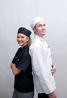 2 Chef Jacket, Long/Short Sleeve, White/Black, Only $32.00, Best Price & Quality
