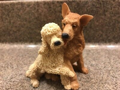 Castagna Lovers Series #0165 Dog Lovers Poodle and Retriever NEW 1990 Italy