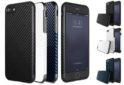 Luxury Carbon Fiber Soft TPU Silicone Gel Case Cover for Apple iPhone 5 6 7 Plus