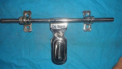 Vintage iron /cast iron Door Slide Catch Lock Latch nickel plated made in India