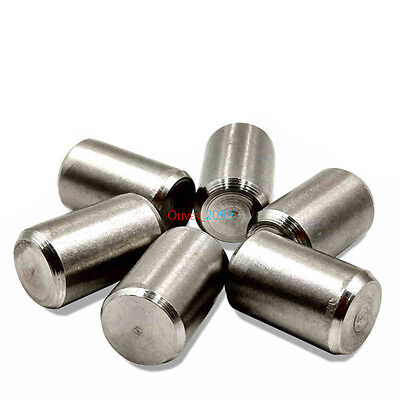 50pcs M4 x 4mm  Bearing steel Parallel Pins Dowel Pins Cylindrical Pins DIN7