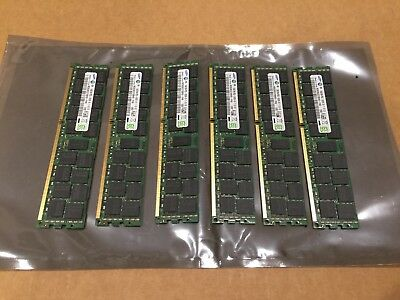 96GB DDR3 server ram.. 6x 16GB PC3L-10600R 1333Mhz dimms