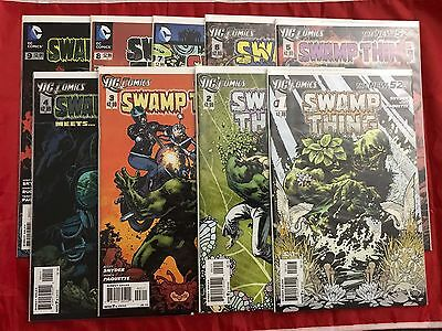 Swamp Thing #1-9 New 52 Snyder & Paquette 2011 DC Comics VF/NM