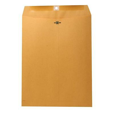 "Nature Saver Clasp Envelope 28Lb 10""x13"" 100/BX Natural Kraft 00858"