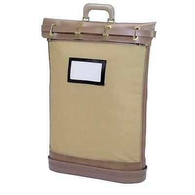 "Mmf Industries Padlock Mail/Courier Bag 18""x5-1/4""x24"" Tan 206482409"