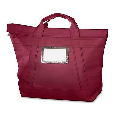 """Mmf Industries Fire Tote Bag Fire/Water Resistant 18""""x7""""x18"""" Burgundy 2325002W17"""