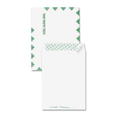 "Sparco Tyvek Open-End Envelopes,1st Class,12""x15-1/2"",100/BX,White 25004"