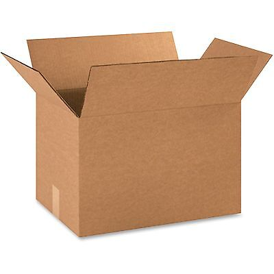 "Box Partners Shipping Boxes 18""x12""x12"" 25/PK Kraft 181212BX"