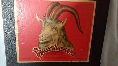 Vintage 1925 Billy Whiskers Game Board