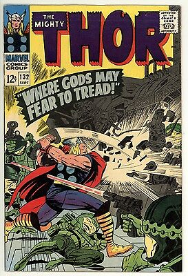 Thor 132 & 133 - 1st Ego Guardians of the Galaxy - Silver-Age Classic - 7.5 VF-