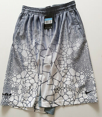 NIKE Performance LeBron Tamed AOP Basketballshort Hose Fitness Running NEU GR M