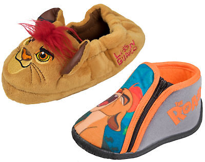 The Lion Guard 3D Slippers Boys Kion Mules Slip On Cushioned Booties Kids Size