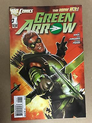 Green Arrow #1 First Print Dc Comics (2011) New 52