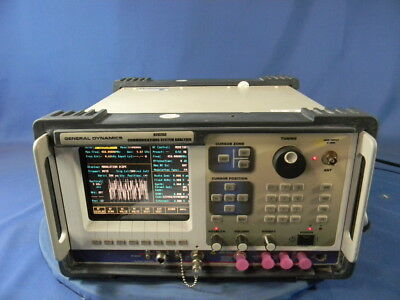General Dynamics R2625C Service Monitor 30 Day Warranty