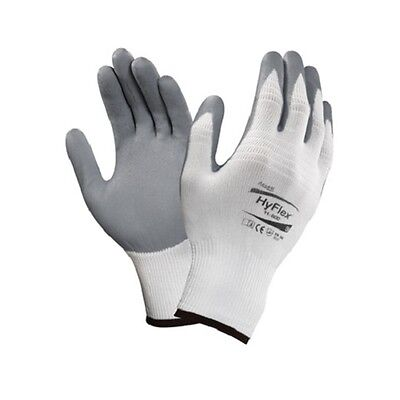 Ansell HyFlex Foam Nitrile Coated Palm Gloves 11 800 Size 9, 6 Pair