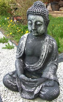 dekofigur gartenfigur buddha sitzend stein figur garten deko figur statue eur 3 50. Black Bedroom Furniture Sets. Home Design Ideas