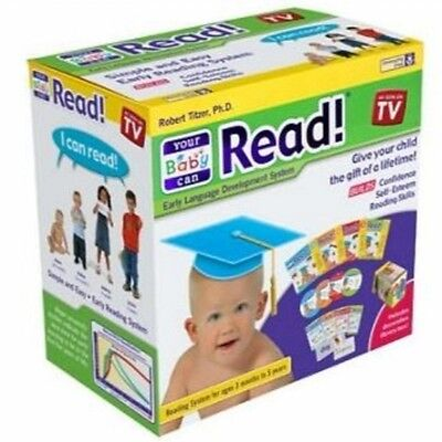 Your Baby Can Read volumes1,2,3 & 4 Dvd's,Cards,Books  Free Shipping