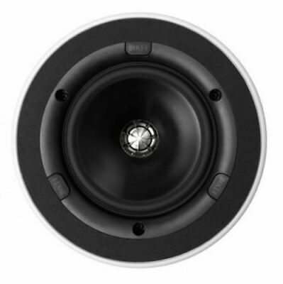 KEF Ci160QR Ceiling Speaker, Thin Bezel, Round, 6.5in Open Box / Customer Return