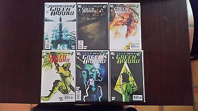 Green Arrow Year One 1 thru 6 Complete Diggle Jock