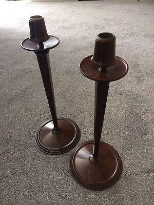 Arts & Crafts Linsden Ware Bakelite Candlesticks