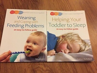 2 Parenting Books - Feeding & Sleeping