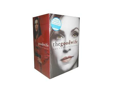 The Good Wife: Complete Series Seasons 1-7 (DVD, 42-Disc Set) 1 2 3 4 5 6 7
