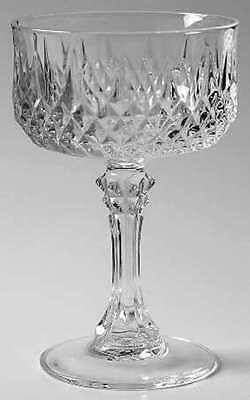 Set of 2 ~ CRISTAL D'ARQUES LONGCHAMP Champagne Sherbert Glass ~ Excellent!