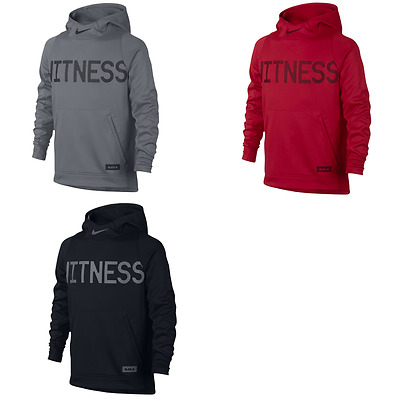 """New Nike Boys' """"Witness"""" LeBron Therma Pullover Hoodie Sizes S, M, L, and XL"""