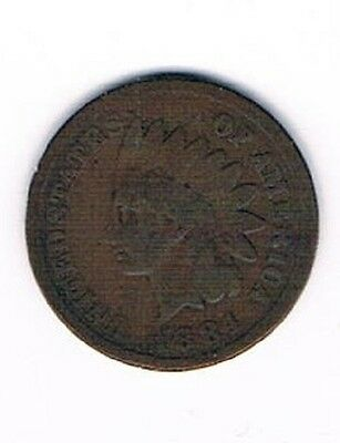 1884 Indian Head Penny