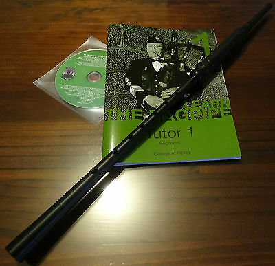 Bagpipe Learners Package- Long practice chanter, CD-rom and Tutor Book