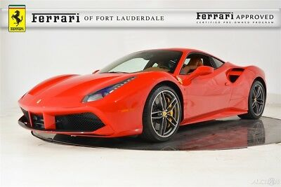 2016 Ferrari Other 488 GTB Certified CPO Carbon Fiber AFS Extended Leather Electric Seats Lifter Camera Sensors HiFi 20